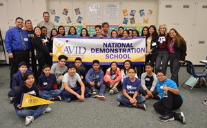 Doig Named National AVID Demonstration School - article thumnail image