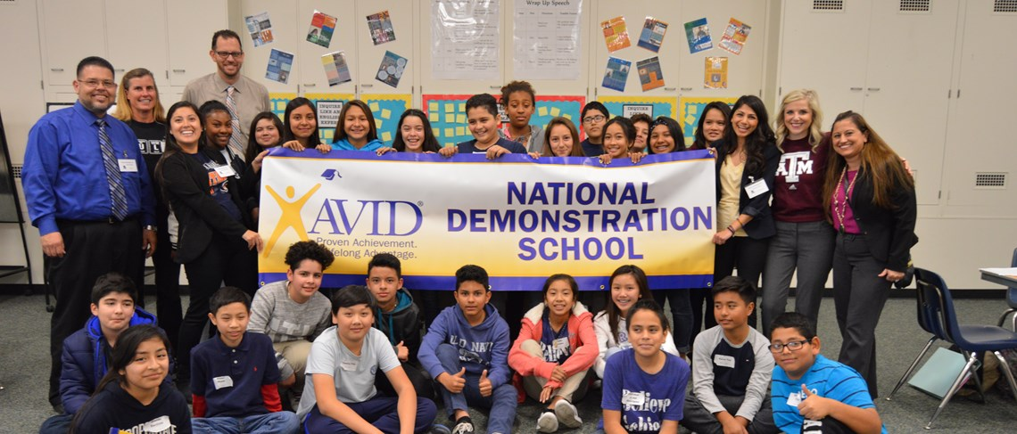 Doig is an AVID National Demonstration School and Models a Culture Focused on College Readiness